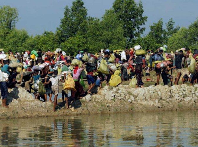 Bangladesh approves controversial Rohingya island