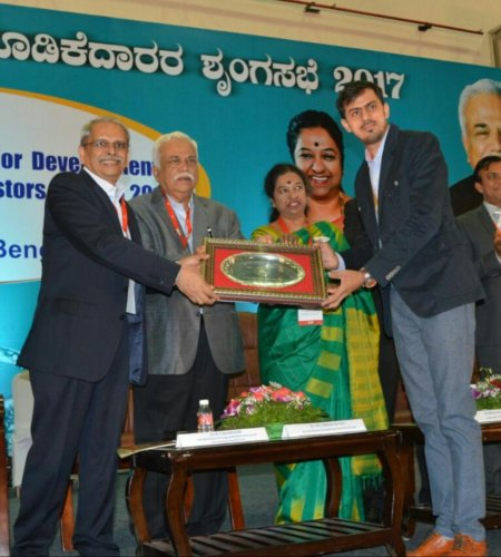 Hubballi firm gets excellence award