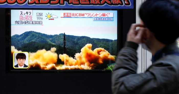 North Korea says it is nuclear state with US in missile strike range