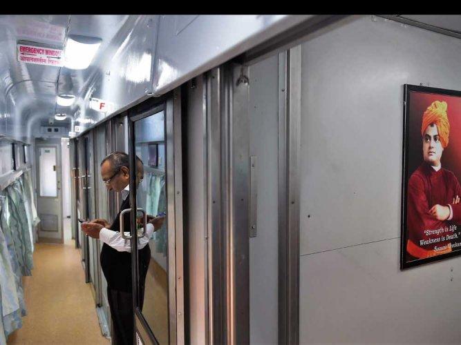 Railways refurbishes Rajdhani, Shatabdi trains