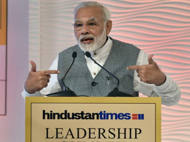 Shun negativity, focus on country's success stories: PM to media