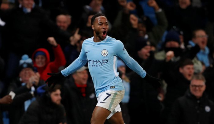 Sterling sparkles in City win