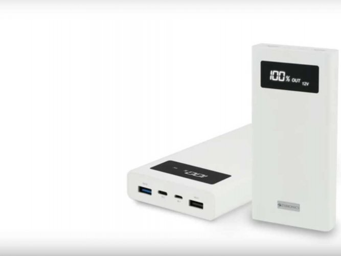 Zebronics launches India's first 20000mAh fast charge power bank