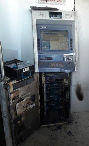 Thieves break ATM machine, escape with Rs 32L cash