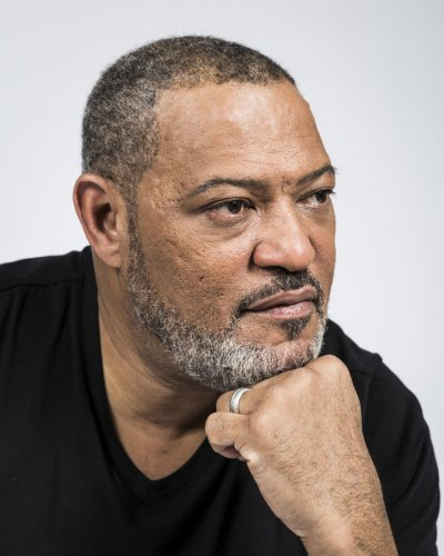 What makes Laurence Fishburne cry?