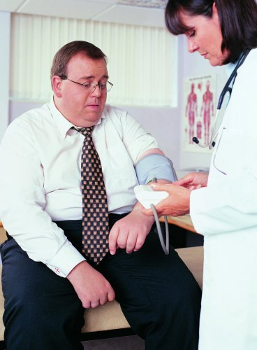 Doc visit can up your blood pressure