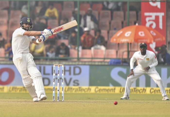Kohli 1st captain to score hat-trick of tons in 3-match series