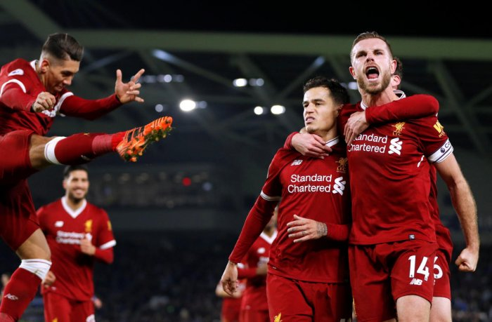 Liverpool and Chelsea keep up chase behind City; Spurs held