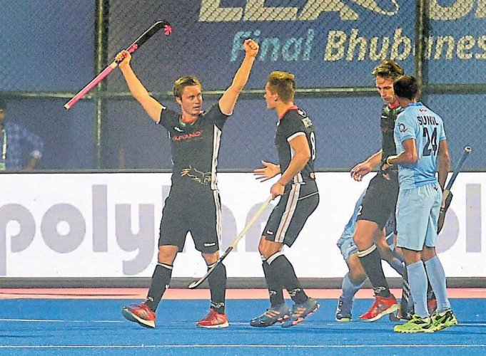 Germany prove too good for Indians
