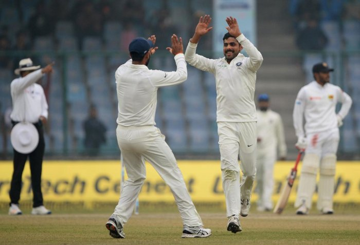 Dominant India close in on win