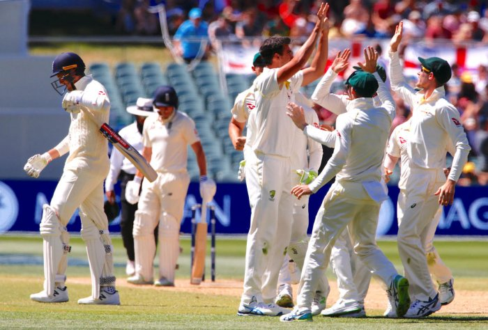Australia beat England by 120 runs in second Ashes test