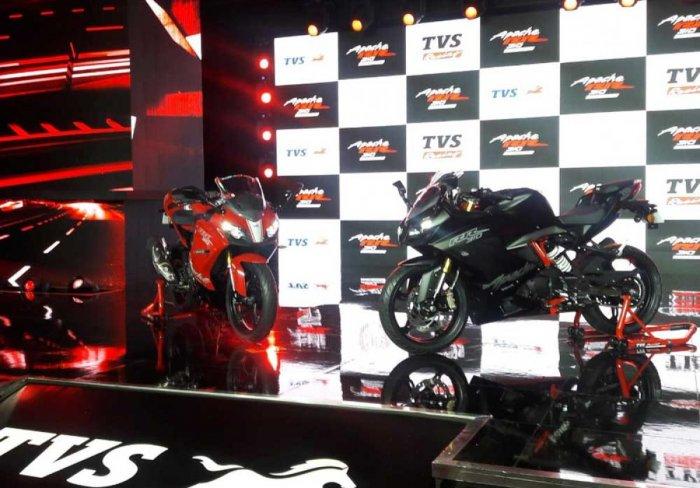TVS Motor enters super-premium segment, launches Apache RR 310