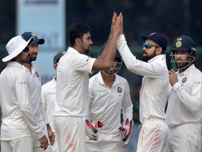India win series 1-0 after 3rd Test ends in draw