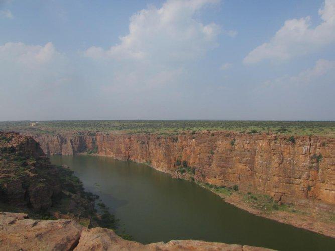 The grandeur of Gandikota