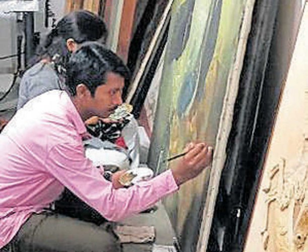 Museum dept seeks relief from govt to restore Roerich paintings