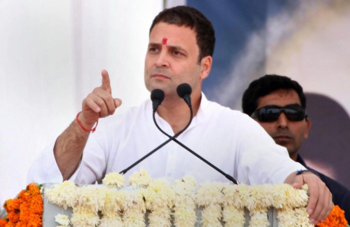 Rahul attacks PM Modi on farmers' plight