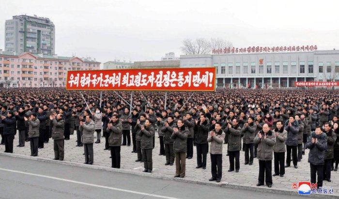 N Korea says war is inevitable as allies continue war games