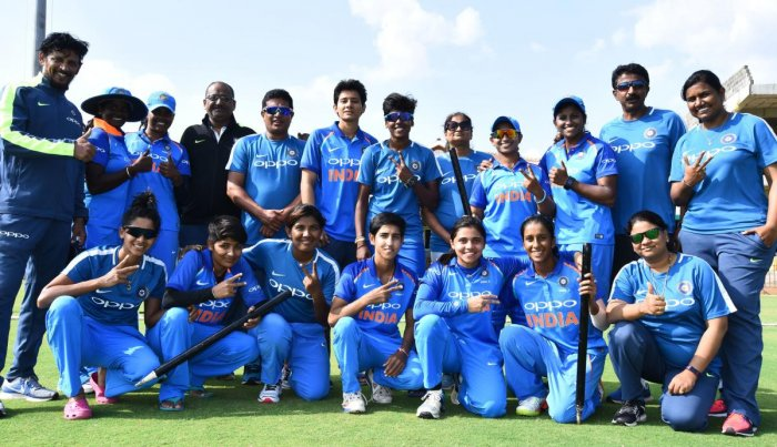 Indian eves sweep series against Bangla