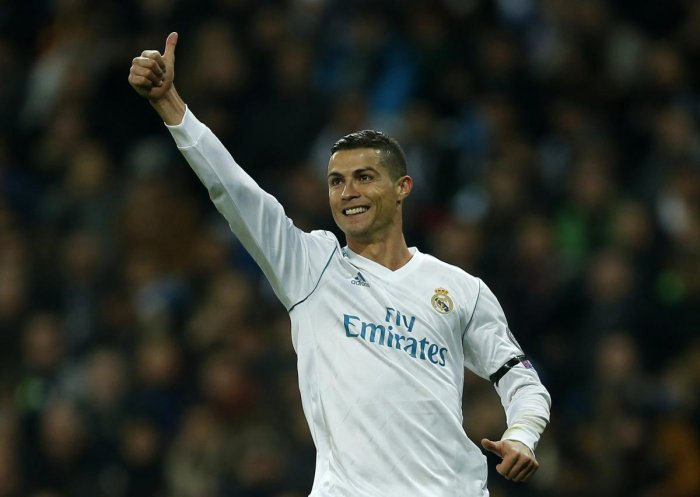 Ronaldo waltzes to another record