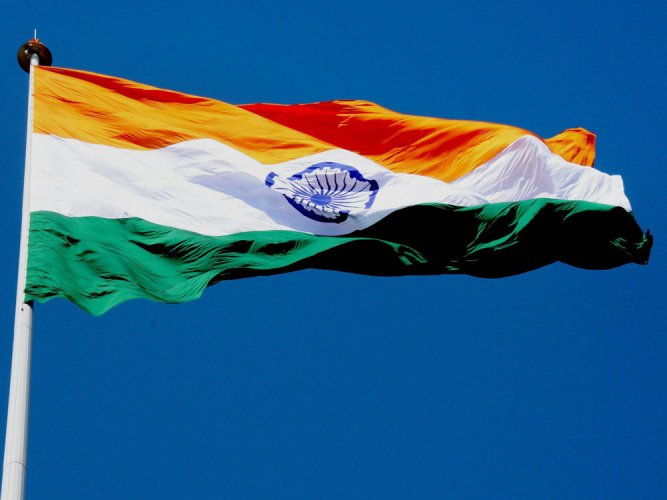 Tallest tricolour nowhere to be seen