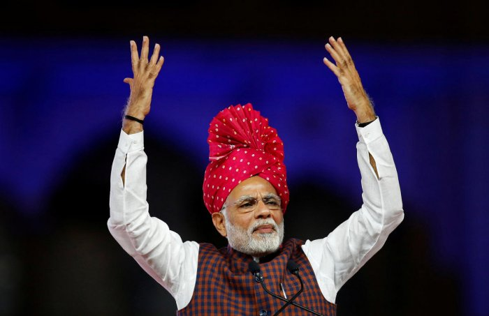 Canard being spread about BJP among Dalits, claims Modi