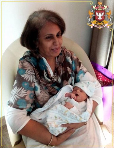 Wadiyars cheer for new born