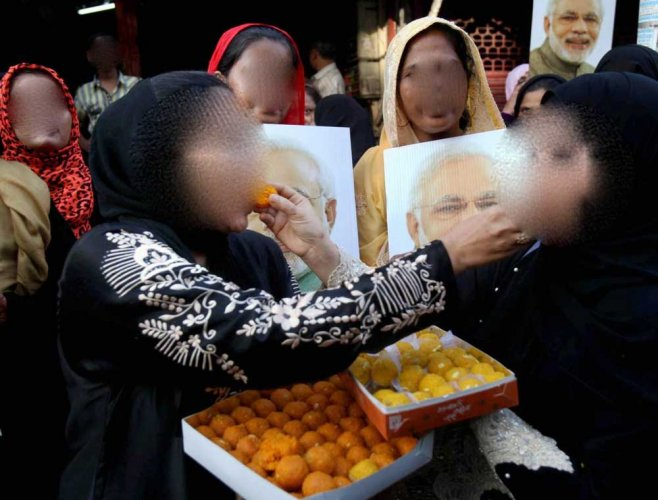 Triple talaq backlash: BJP red-faced after Muslim women claim they were lured to praise PM