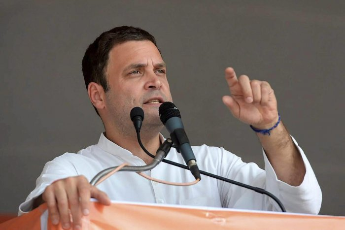 BJP has turned leaders like Patel into 'product': Rahul Gandhi