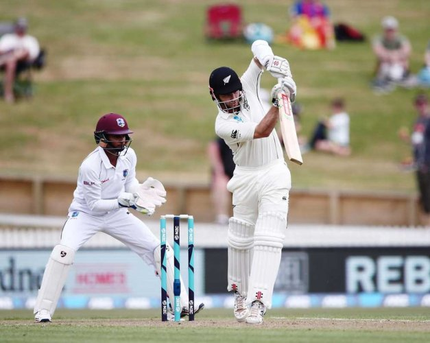 Windies late charge unravels New Zealand