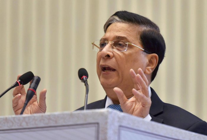 Need institutional arbitration system to get investment: CJI