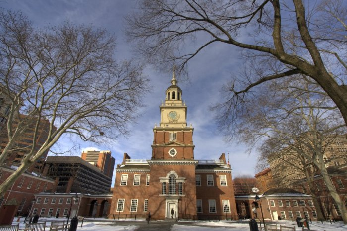 Philadelphia, anchored to history