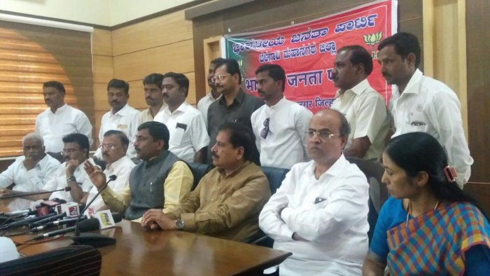 BJP slams CM for being soft towards anti-national elements