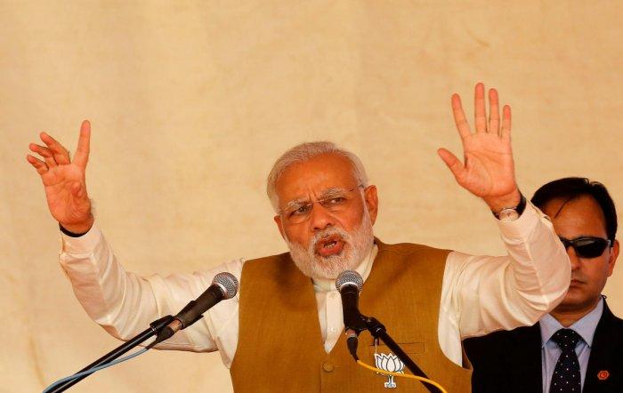 Modi may visit Palestine