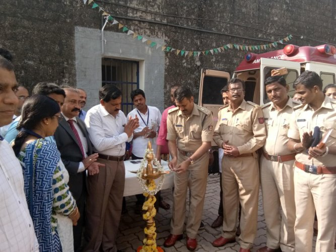 Health check up camp for jail inmates