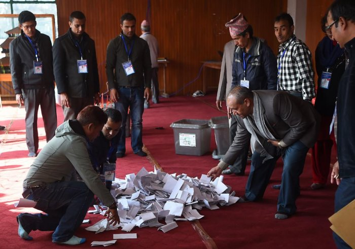 Nepal Left alliance heading towards majority in historic election