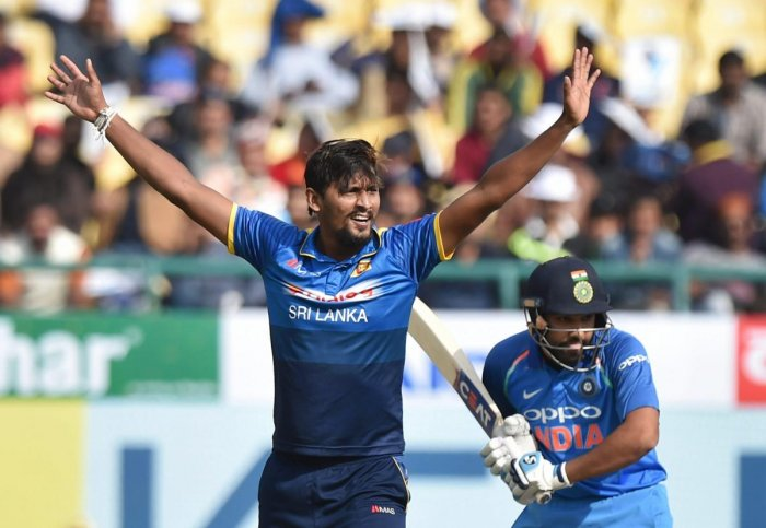 Lanka's 'Lucky 13': Pathetic India lose by seven wickets