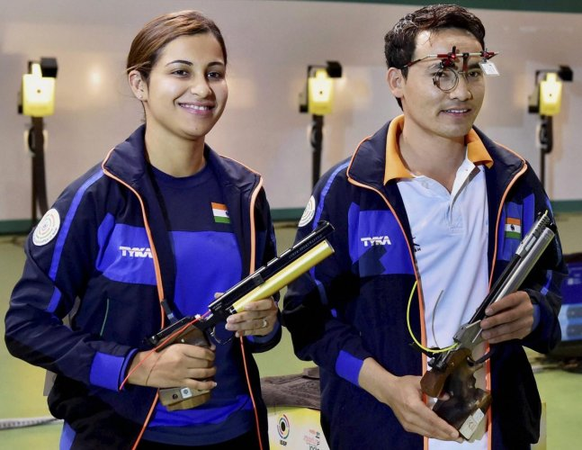 Jitu, Heena bag top honours