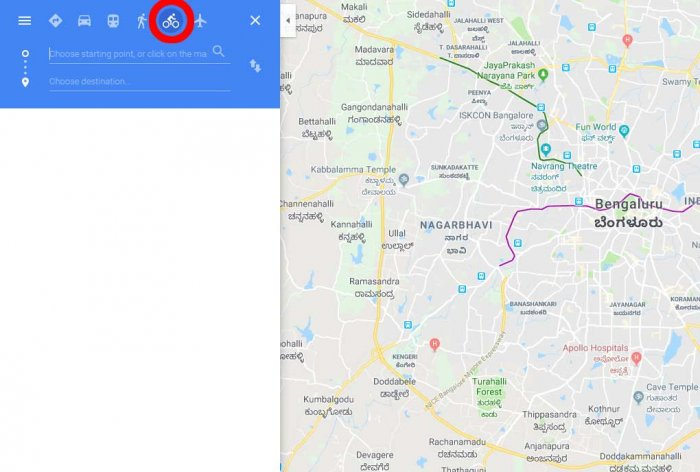 Now, a 'two-wheeler mode' in Google Maps