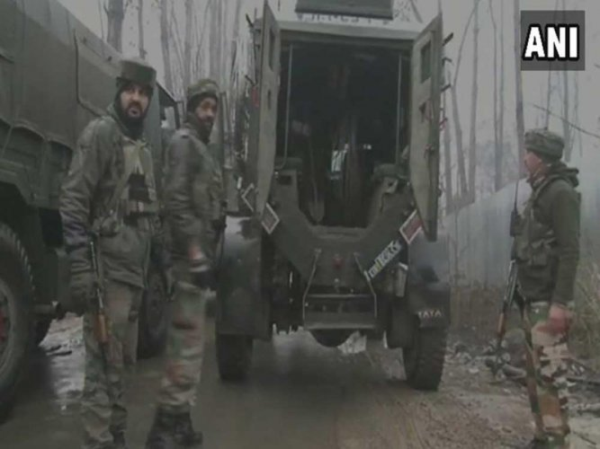 3 Pakistani militants killed in J&K encounter