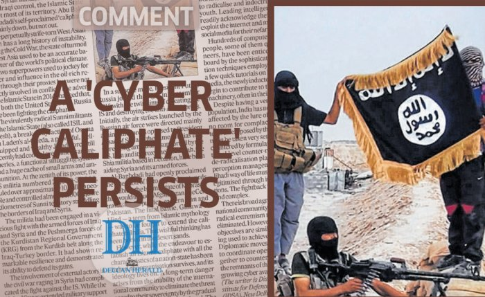 A 'cyber caliphate' persists