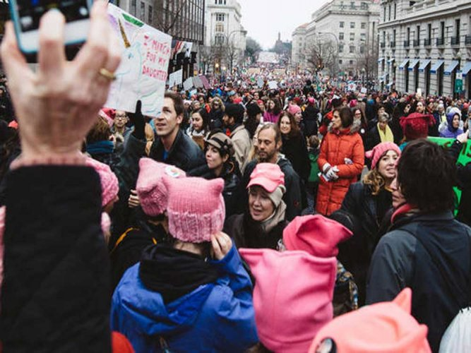 'Feminism' Merriam-Webster's 2017 word of the year
