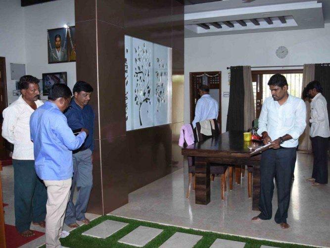 Anti Corruption Bureau raids three govt. officials' houses