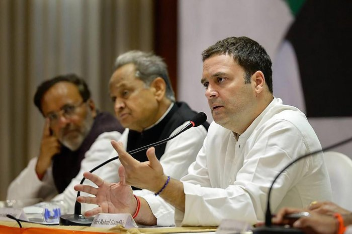 No makeover, BJP had distorted my image: Rahul Gandhi