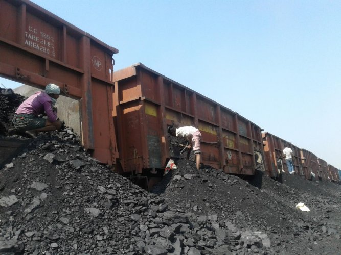 Under pressure to keep YTPS running, officials transport coal on incomplete rly line