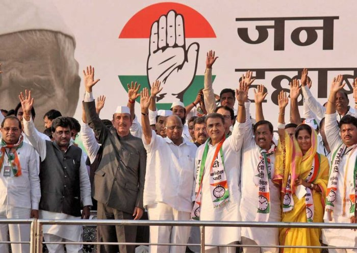 Nagpur rally brings Congress, NCP together