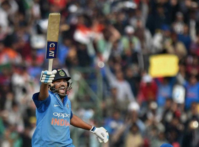 I played to my strengths, says Rohit