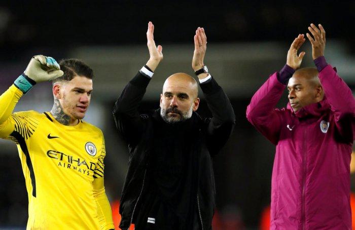 Guardiola wants City history men to keep at it