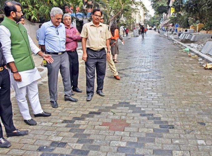 MLA N A Haris inspects Church Street
