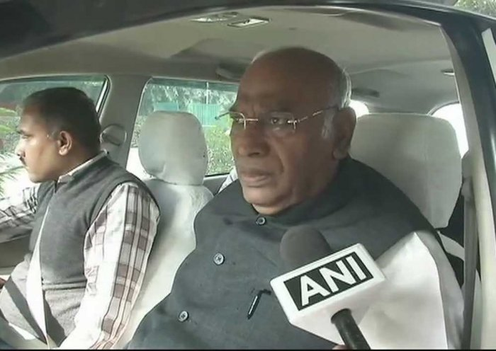 Oppositon queries not addressed at all-party meet: Kharge