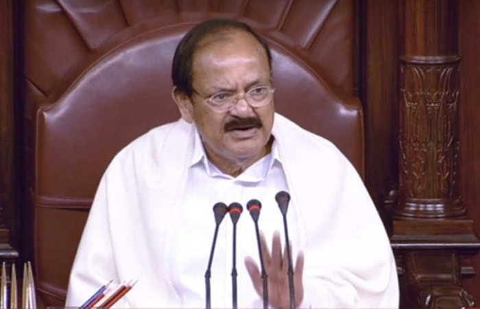 Don't say 'beg', we are a free nation: Naidu to ministers